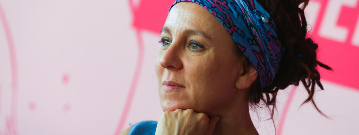 Photo of Olga Tokarczuk, prix Nobel de littérature 2018, la 15e femme distinguée depuis 1901