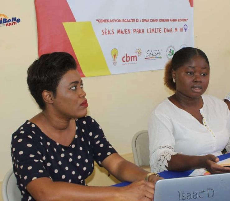 Photo of Quatre semaines d'activisme pour sensibiliser sur les droits des femmes et le développement équitable en Haïti