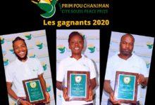 Photo of Konbit Site Solèy a honoré trois jeunes de Cité soleil